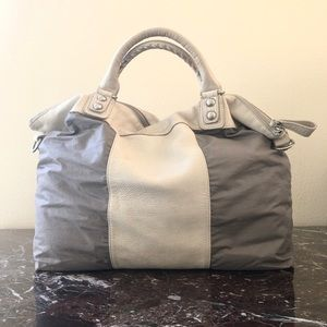 {Liebeskind} Leather + Canvas Large Tote